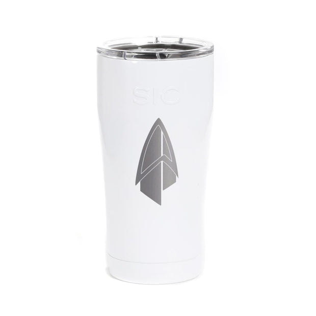 Star Trek: Picard Starfleet Badge Laser Engraved SIC Tumbler | Official CBS Entertainment Store