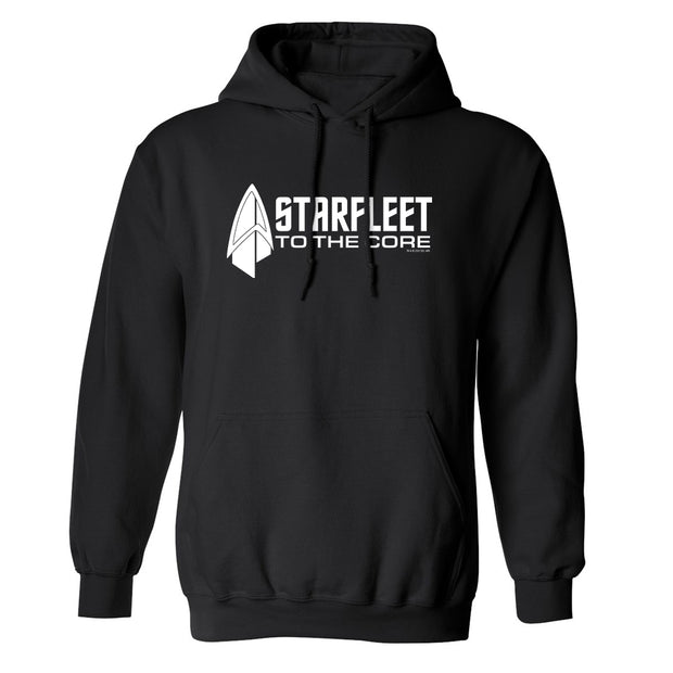 Star Trek: Picard Starfleet to the Core Fleece Hooded Sweatshirt