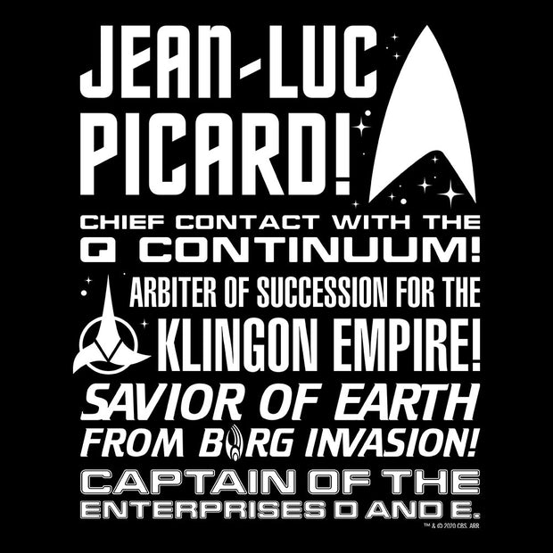 Star Trek: Picard Tribute Adult Short Sleeve T-Shirt
