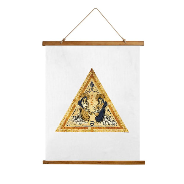 Star Trek: Picard Tarot Card Wall Tapestry with Wooden Hanger