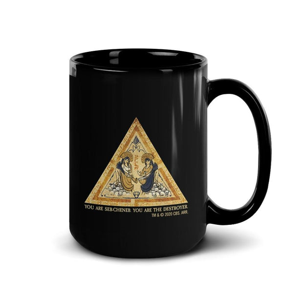 Star Trek: Picard Tarot Card Quote Black Mug | Official CBS Entertainment Store