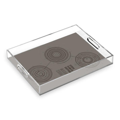 Star Trek: Picard Utopia Planitia Shipyards Acrylic Tray | Official CBS Entertainment Store