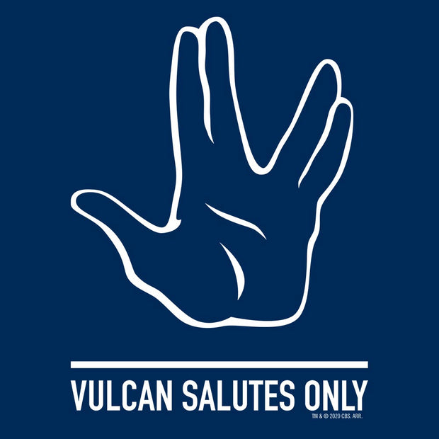Star Trek Vulcan Salutes Only Sign Women's Relaxed Scoop Neck T-Shirt