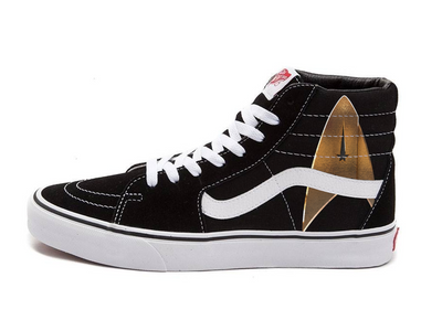 Star Trek: Discovery Indicator Sk8 Hi Vans | Official CBS Entertainment Store
