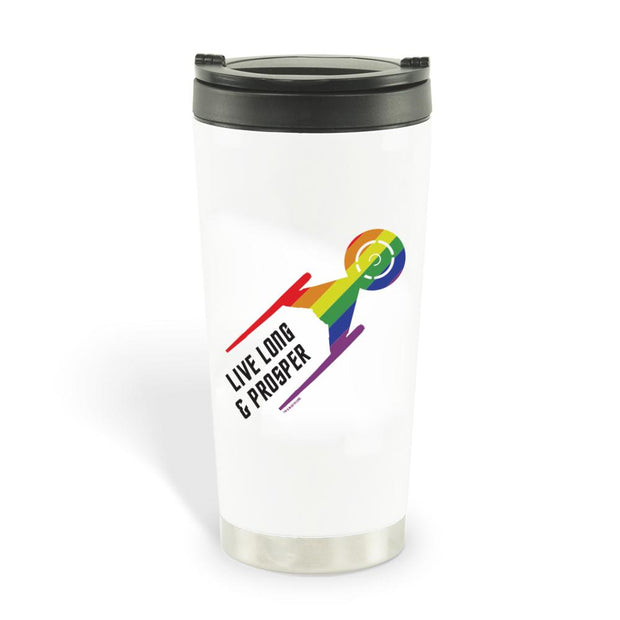 Star Trek: Discovery Pride Travel Mug | Official CBS Entertainment Store