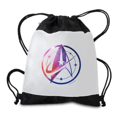 Star Trek: Discovery Universe Logo Drawstring Bag | Official CBS Entertainment Store