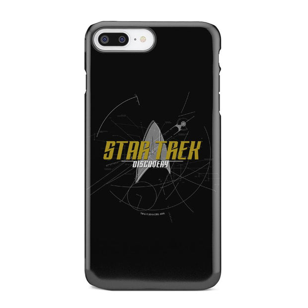 Star Trek: Discovery Logo Sketch Tough Phone Case | Official CBS Entertainment Store