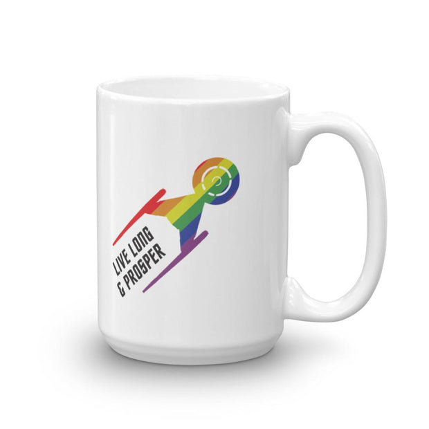 Star Trek: Discovery Pride White Mug | Official CBS Entertainment Store