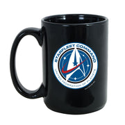 Star Trek: Discovery Starfleet Command Black Mug | Official CBS Entertainment Store