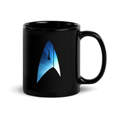 Star Trek: Discovery Universe Delta Black 11 oz Mug | Official CBS Entertainment Store