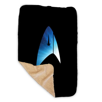 Star Trek: Discovery Universe Delta Sherpa Blanket | Official CBS Entertainment Store