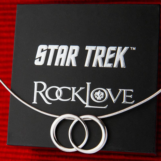 Star Trek X RockLove Dahj & Soji Omega Necklace | Official CBS Entertainment Store