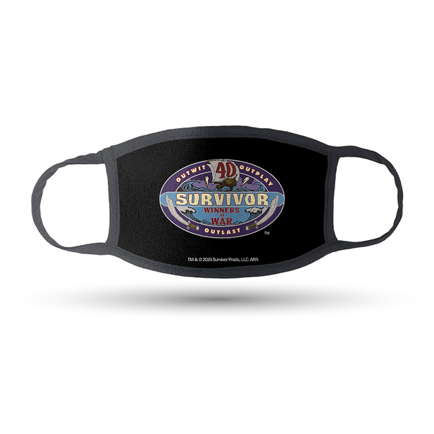 Survivor Assorted Washable Face Masks- Pack of 3 | Official CBS Entertainment Store