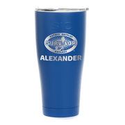 Survivor Outwit, Outplay, Outlast Personalized Laser Engraved SIC Tumbler | Official CBS Entertainment Store