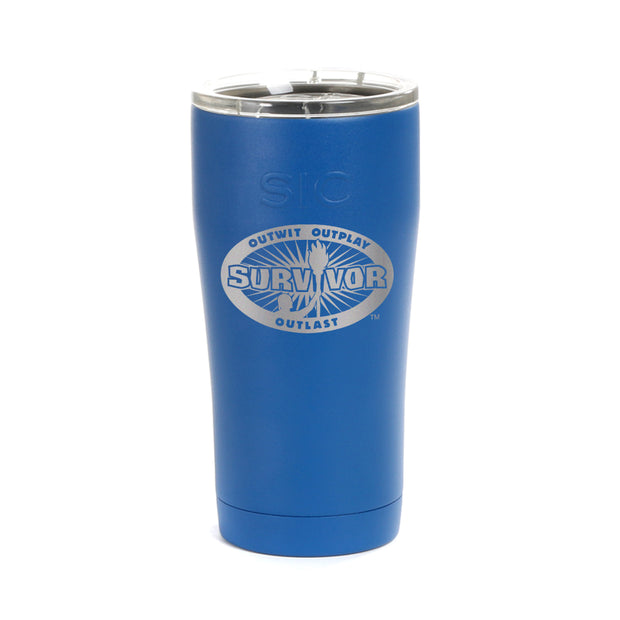 Survivor Outwit, Outplay, Outlast Laser Engraved SIC Tumbler | Official CBS Entertainment Store