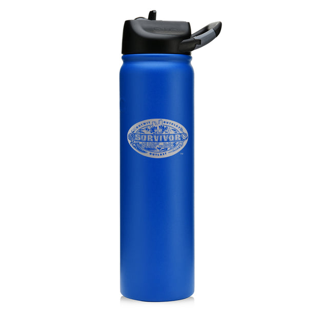 Survivor Season 39 Island of the Idols Laser Engraved SIC Water Bottle | Official CBS Entertainment Store