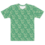 Survivor 20 Years 40 Seasons All Over Green Tribal Pattern Adult All-Over Print T-Shirt