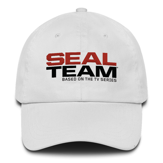 SEAL Team Stacked Logo Embroidered Baseball Cap | Official CBS Entertainment Store