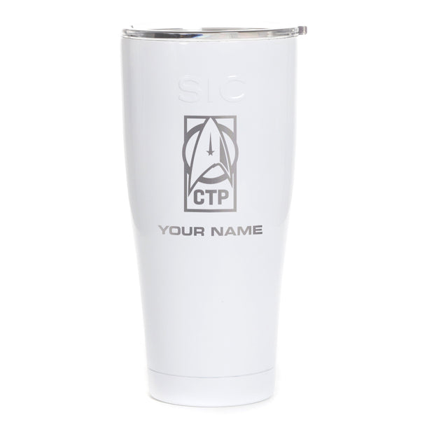 Star Trek: Discovery CTP Personalized Laser Engraved SIC Tumbler | Official CBS Entertainment Store