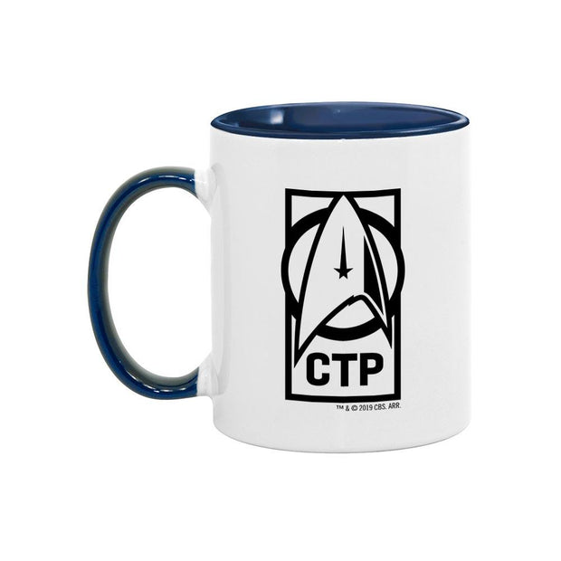 Star Trek: Discovery CTP Personalized Two Tone 11 oz Mug | Official CBS Entertainment Store