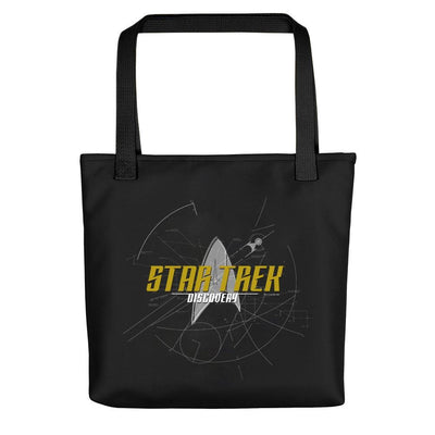 Star Trek: Discovery Logo Sketch Tote Bag | Official CBS Entertainment Store