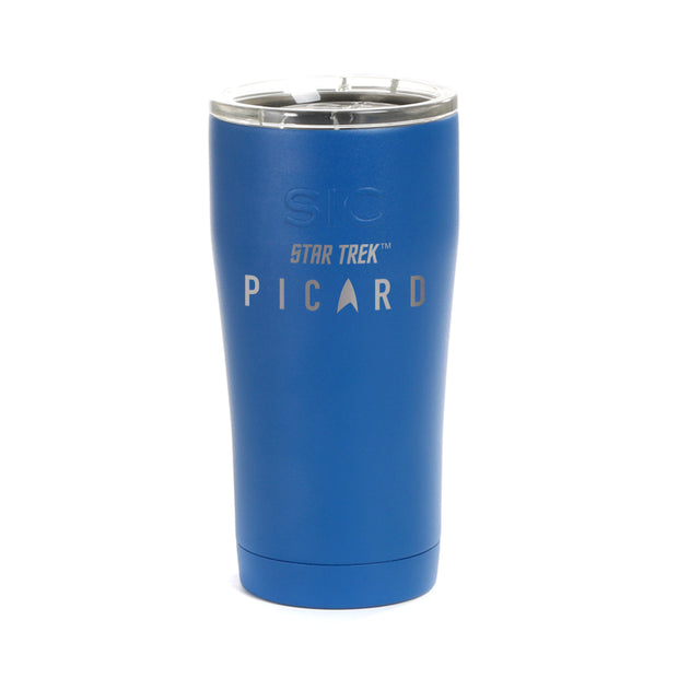 Star Trek: Picard Logo Laser Engraved SIC Tumbler | Official CBS Entertainment Store