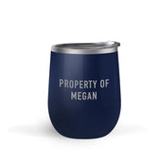 Star Trek: Picard Property of Personalized Double Sided 12 oz Stainless Steel Wine Tumbler | Official CBS Entertainment Store