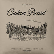 Star Trek: Picard Chateau Picard Vineyard Logo Throw Pillow | Official CBS Entertainment Store