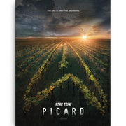 Star Trek: Picard Original Key Art Wrapped Canvas | Official CBS Entertainment Store