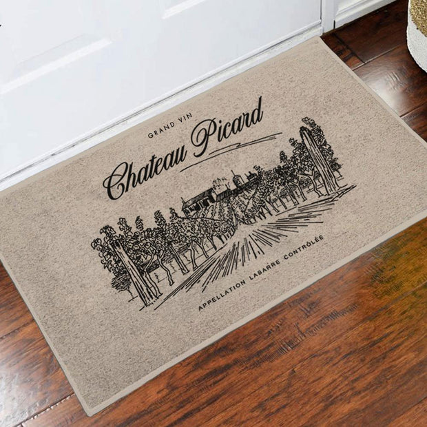 Star Trek: Picard Chateau Picard Vineyard Logo Doormat | Official CBS Entertainment Store