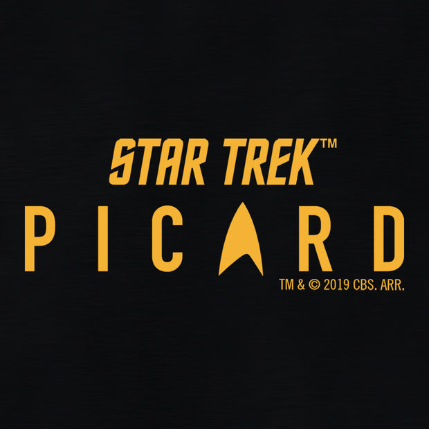 Star Trek: Picard Logo Lightweight Zip Up Hooded Sweatshirt | Official CBS Entertainment Store