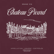 Star Trek: Picard Chateau Picard Vineyard Logo Fleece Hooded Sweatshirt | Official CBS Entertainment Store