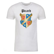 Star Trek: Picard Coat of Arms Adult Short Sleeve T-Shirt | Official CBS Entertainment Store