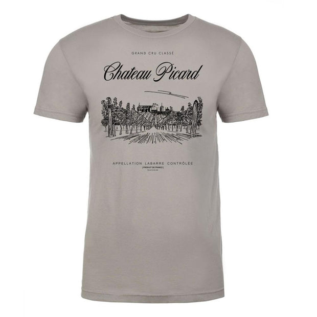 Star Trek: Picard Chateau Picard Vineyard Logo Adult Short Sleeve T-Shirt