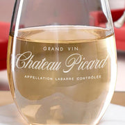 Star Trek: Picard Chateau Picard Stemless Wine Glass | Official CBS Entertainment Store