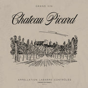 Star Trek: Picard Chateau Picard Vineyard Logo Sherpa Blanket | Official CBS Entertainment Store