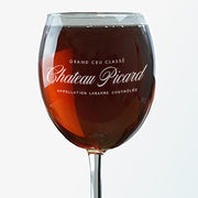 Star Trek: Picard Chateau Picard Logo Wine Glass | Official CBS Entertainment Store