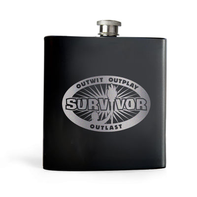 Survivor Outwit, Outplay, Outlast Flask