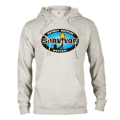 Survivor Outwit, Outplay, Outlast Logo Hooded Sweatshirt