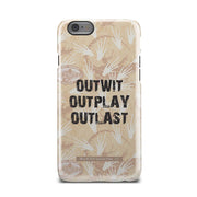 Survivor Outwit, Outplay, Outlast Tough Phone Case | Official CBS Entertainment Store