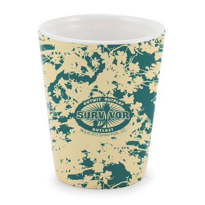 Survivor Terrain Ceramic Shot Glass