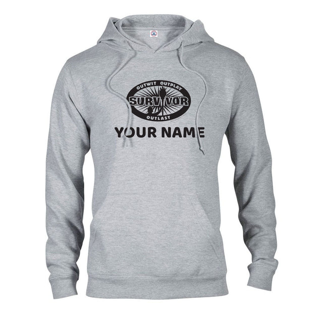 Survivor Outwit, Outplay, Outlast Personalized Hooded Sweatshirt | Official CBS Entertainment Store