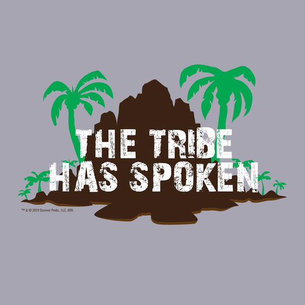 Survivor Island The Tribe Has Spoken Women's Racerback Tank Top