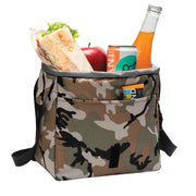 Survivor Season 39 Island of the Idols Logo Camo Lunch Cooler Messenger Bag | Official CBS Entertainment Store