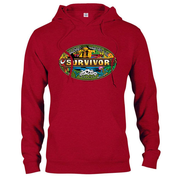 Survivor Mashup Logo Hooded Sweatshirt | Official CBS Entertainment Store
