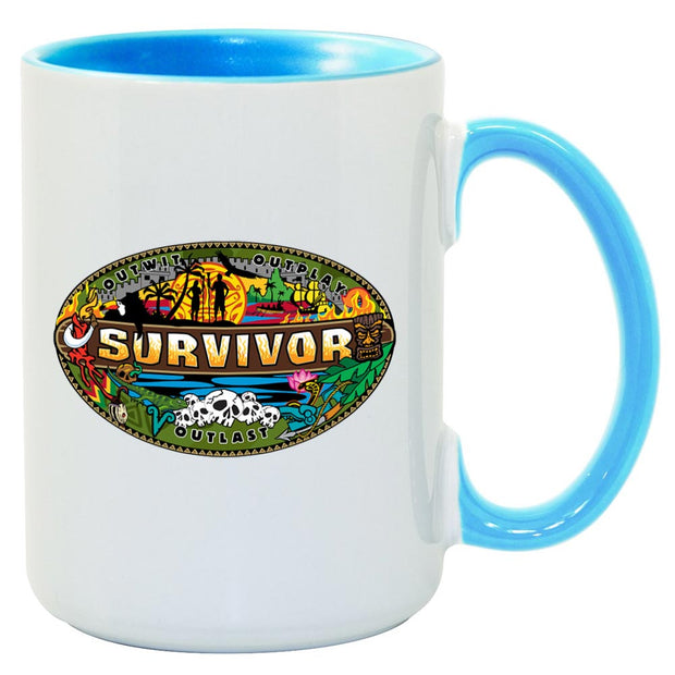 Survivor Mashup Logo Two Tone Mug