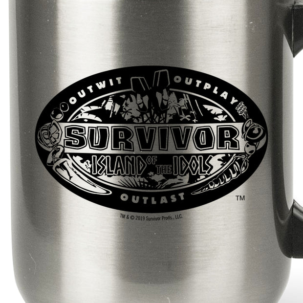 Survivor Season 39 Island of the Idols Travel Mug | Official CBS Entertainment Store