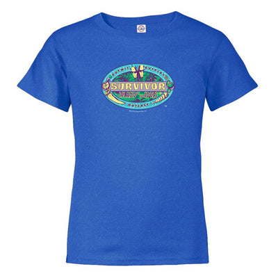 Survivor Season 39 Island of the Idols Kids/Toddler Short Sleeve T-Shirt | Official CBS Entertainment Store