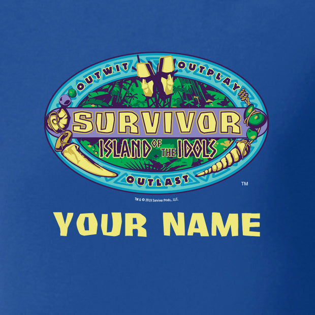 Survivor Season 39 Island of the Idols Personalized Baby Bodysuit | Official CBS Entertainment Store