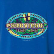 Survivor Season 39 Island of the Idols Women's Relaxed V-Neck T-Shirt | Official CBS Entertainment Store